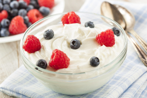 Fresh Organic Healthy Yogurt